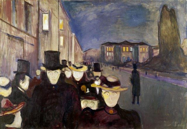 Sera sulla via di Kar Johann, 1892