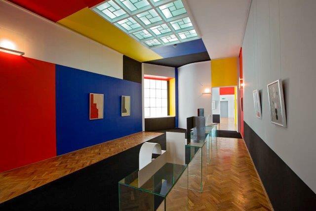 sala neoplastica del museo dell'arte di Łόdź