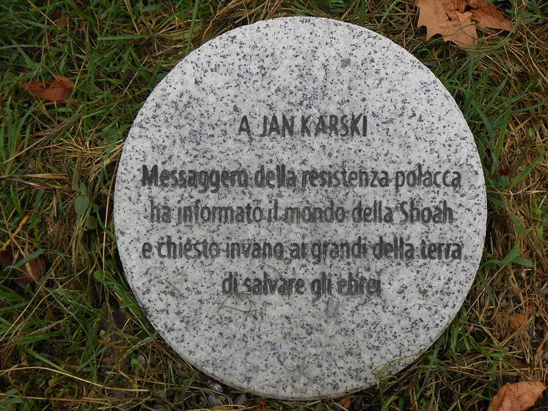 Jan Karski.Una missione per l'umanità