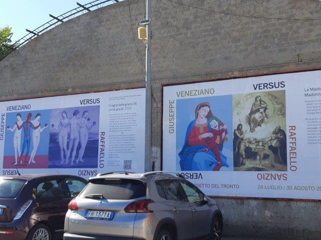 Giuseppe Veneziano vs Raffaello Sanzio