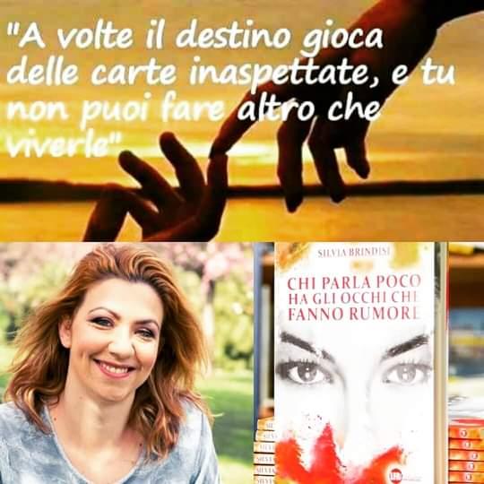 Chi parla poco ha gli occhi che fanno rumore di Silvia Brindisi