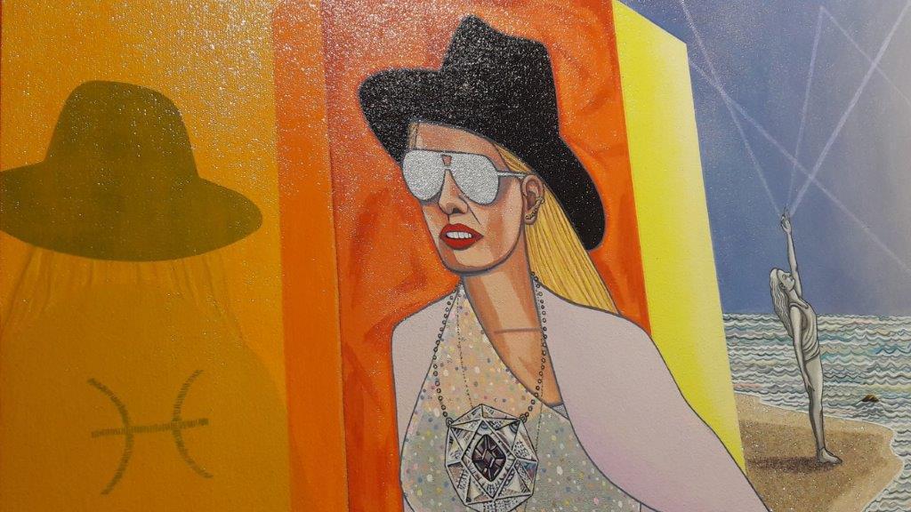 Quattro artisti statunitensi alla Galleria Mucciaccia