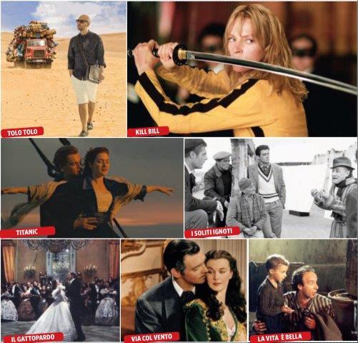 i film della nostra vita