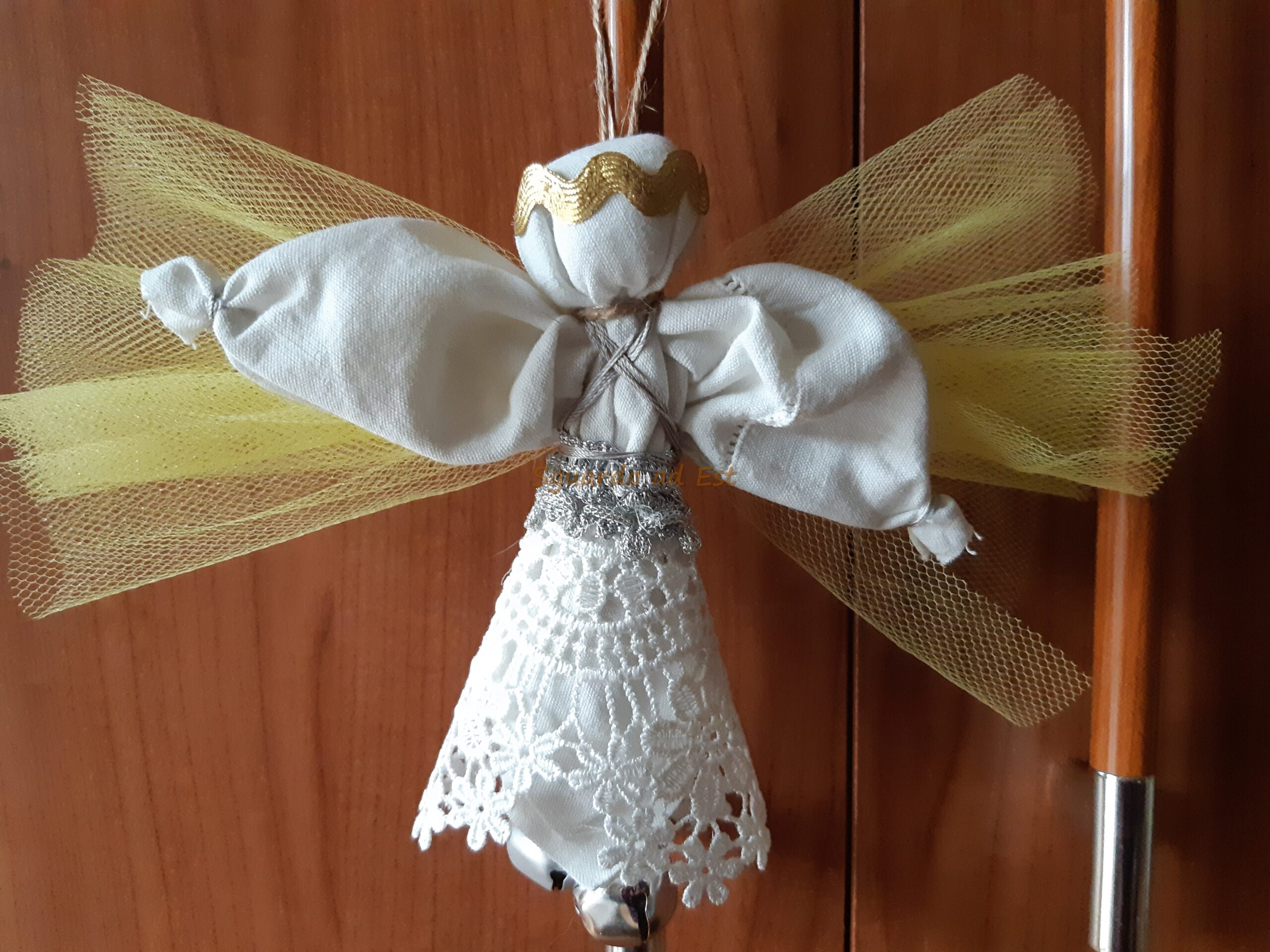 Angelo di Natale bambola russa