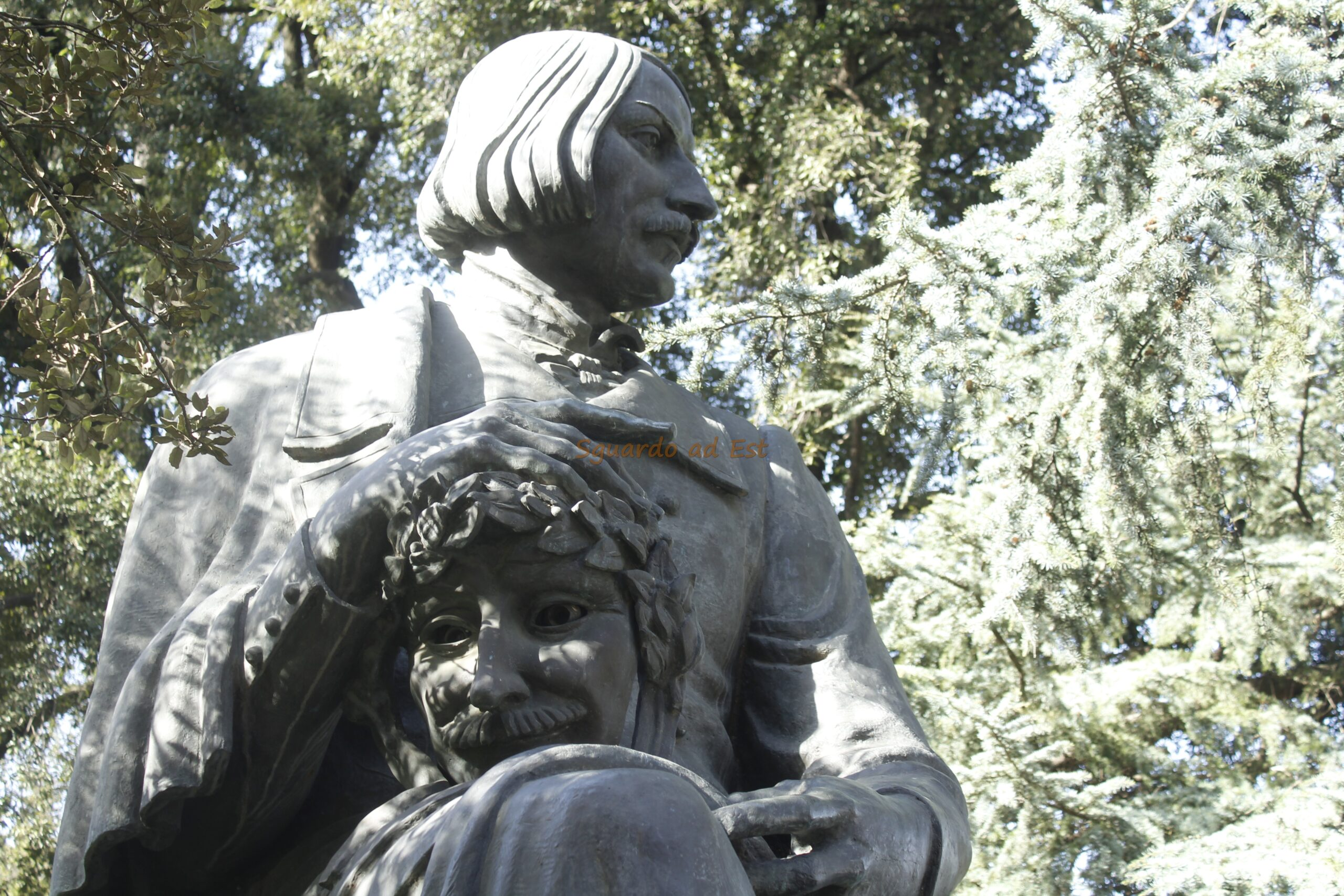 A Roma sottobraccio con Gogol'